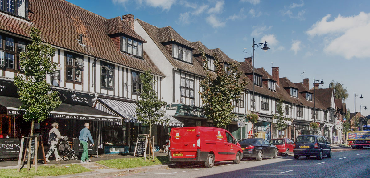 Cheam High street