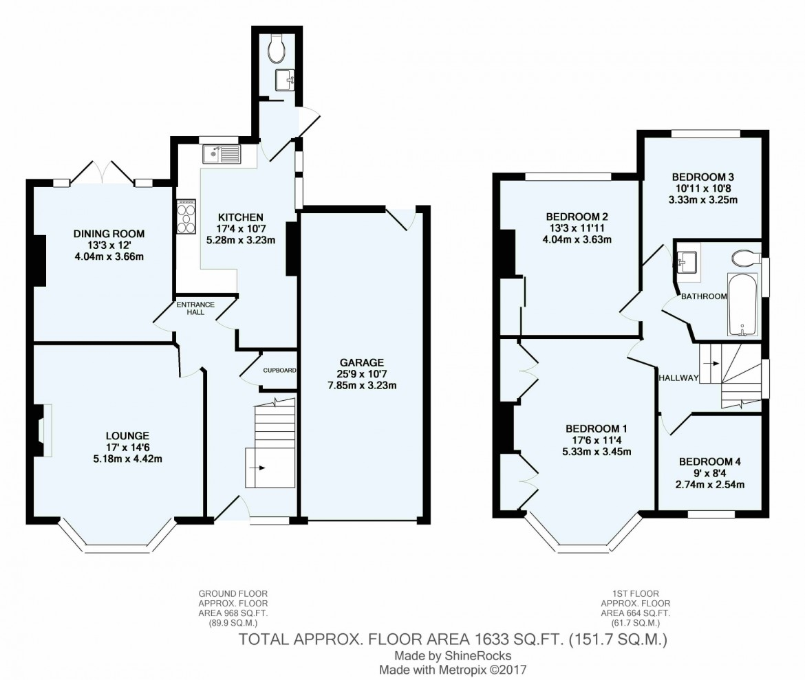 Floorplans For Plough Lane, Purley, Surrey