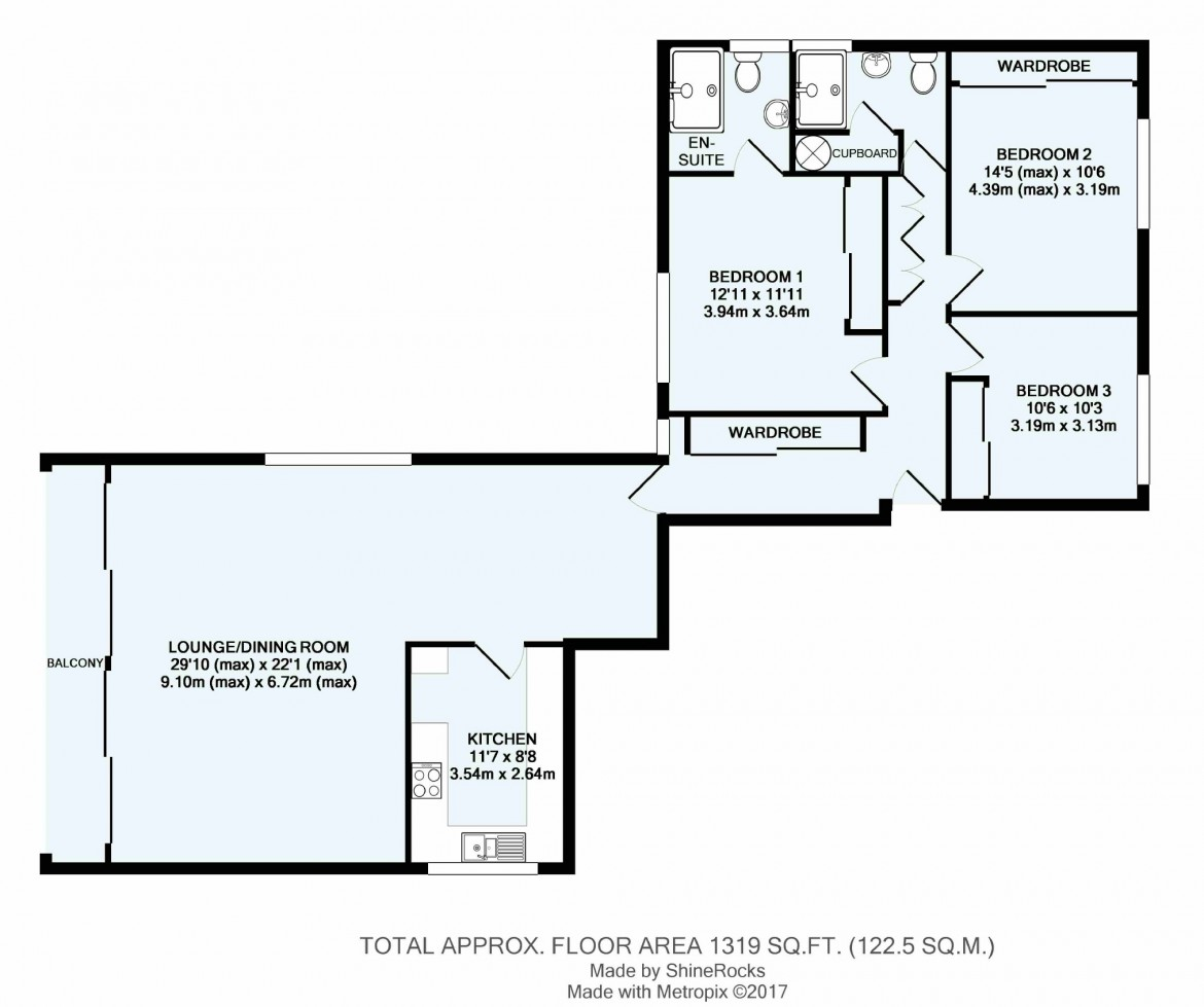 Floorplans For Coombe Road, Croydon