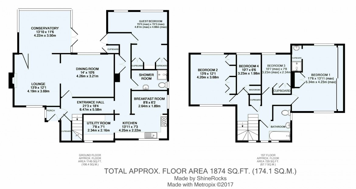 Floorplans For Brancaster Lane, Purley, Surrey