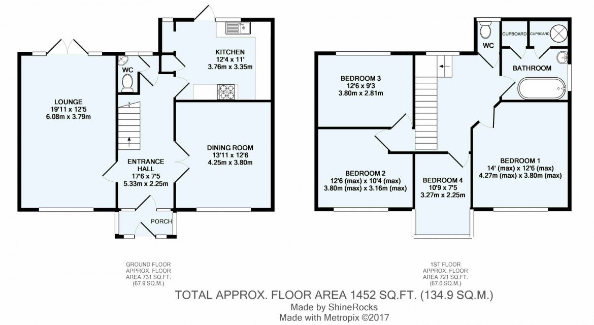 Floorplans For The Ridge Way, Sanderstead