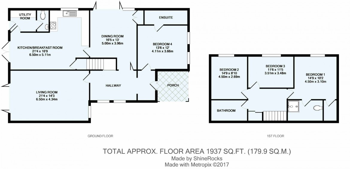 Floorplans For Peaks Hill, Purley, Surrey