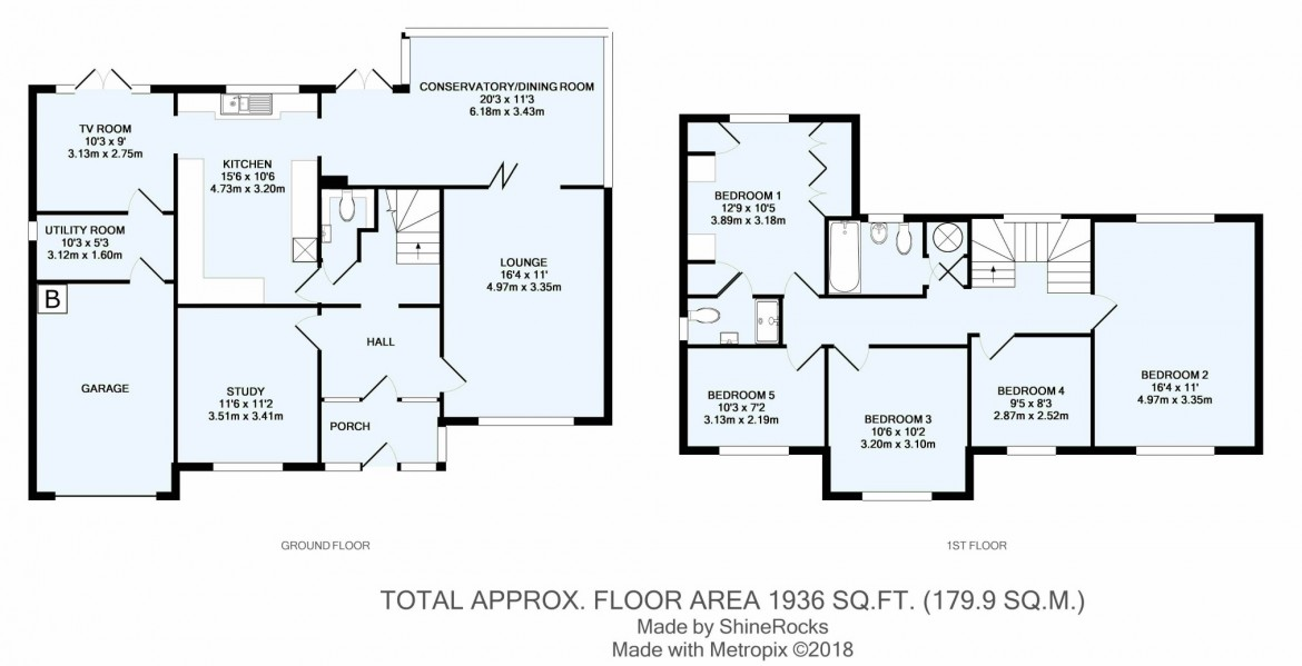Floorplans For Coningsby Road, South Croydon, Surrey