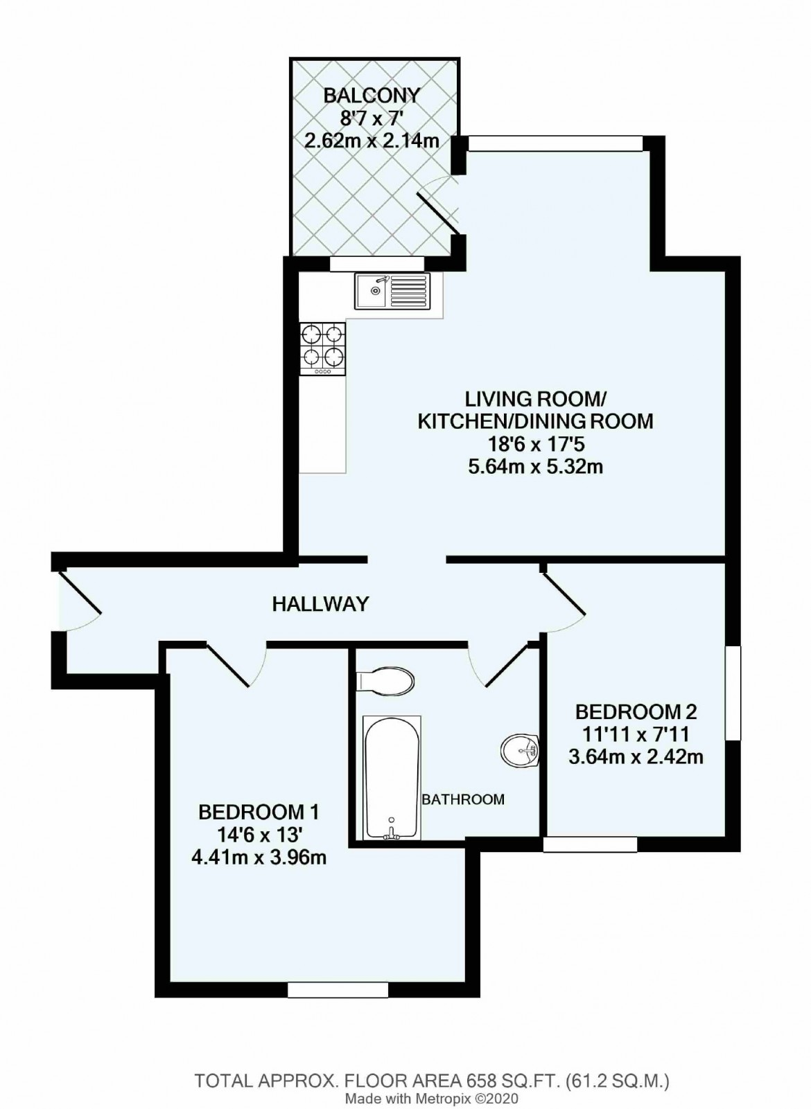 Floorplans For West Hill, Sanderstead, South Croydon, Surrey