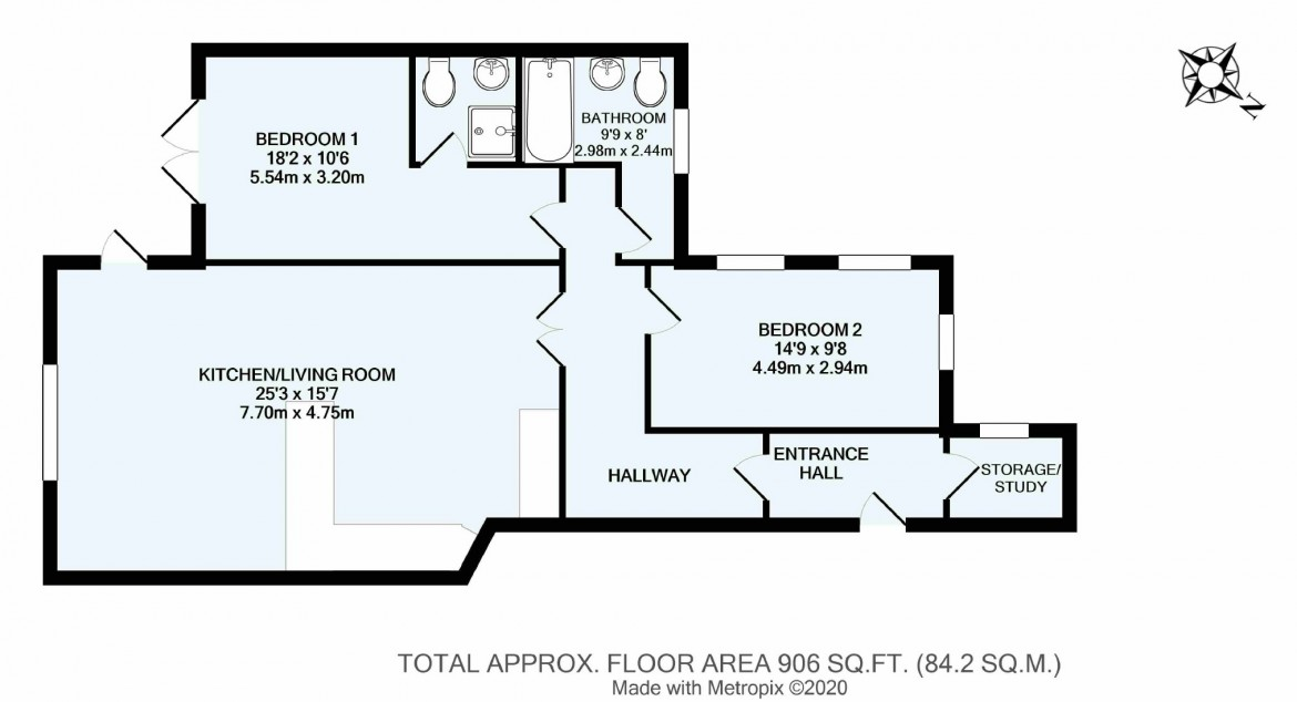 Floorplans For Hayes Lane, Kenley, Surrey