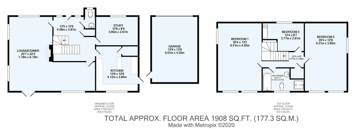 Floorplans For Croham Manor Road, South Croydon, Surrey