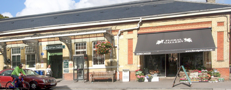 Caterham station - part of the area guide to Caterham by Shinerocks estate agents